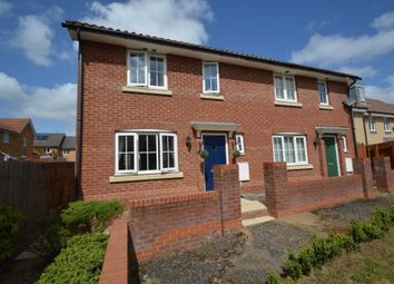 Thumbnail 3 bed property for sale in Heron Road, Queens Hill, Costessey