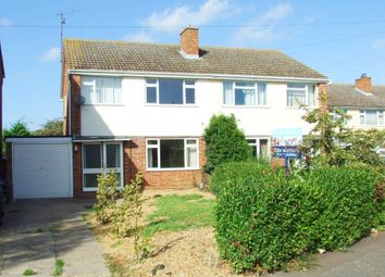 Thumbnail 3 bedroom semi-detached house to rent in Laburnum Way, St. Ives, Huntingdon