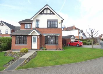 Thumbnail 4 bed detached house for sale in Lyncroft Close, Crewe