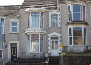 Thumbnail 2 bedroom shared accommodation to rent in Glanmor Road, Uplands, Swansea