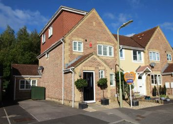 Thumbnail 4 bed end terrace house for sale in St Christophers Close, Aldershot