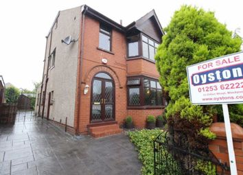 Thumbnail 4 bedroom semi-detached house for sale in Holcombe Road, Blackpool