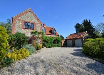 Thumbnail 4 bedroom detached house for sale in Moor End Lane, Stibbard, Fakenham