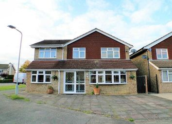 Thumbnail 5 bedroom detached house for sale in Lewis Close, Newport Pagnell