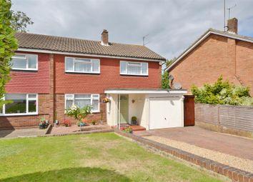 Thumbnail 3 bed semi-detached house for sale in Warwick Close, Bushey Heath, Bushey