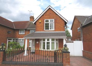 Thumbnail 4 bed semi-detached house for sale in Drayton Street, Walsall