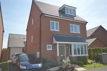 Thumbnail 4 bed detached house for sale in Higher Croft Drive, Coppenhall
