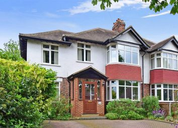 Thumbnail 4 bed semi-detached house for sale in Upland Road, Sutton, Surrey