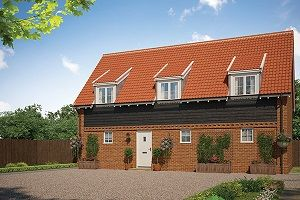 Thumbnail 2 bed maisonette for sale in Cromer Road, Holt, Norfolk