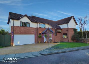 Thumbnail 5 bed detached house for sale in Broomlands, Wirral, Merseyside