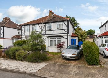 Thumbnail 3 bed semi-detached house for sale in Idmiston Road, Worcester Park