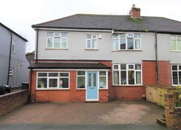 Thumbnail 5 bed semi-detached house for sale in The Crescent, Bredbury, Stockport