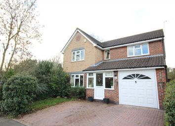 Thumbnail 4 bed detached house for sale in Taverner Drive, Ratby, Leicester