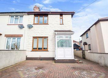 Thumbnail Semi-detached house for sale in Ceiriog Crescent, Rhydyfelin, Pontypridd