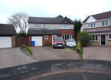 Thumbnail 4 bedroom detached house for sale in Porlock Court, Cramlington