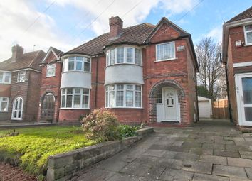 Thumbnail 3 bed semi-detached house for sale in Shirley Road, Hall Green, Birmingham