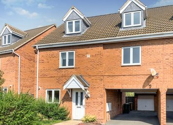 Thumbnail 4 bed semi-detached house for sale in Black Swan Crescent, Hampton Hargate, Peterborough