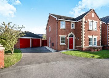 Thumbnail 4 bed detached house for sale in Stanier Way, Renishaw, Sheffield