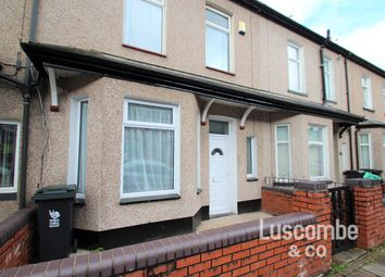 Thumbnail 3 bed terraced house to rent in Vivian Road, Newport