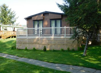 Thumbnail 2 bed lodge for sale in Banwy Valley, Foel