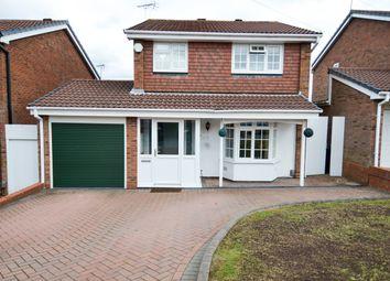Thumbnail 4 bed detached house for sale in Furlong Meadow, Northfield, Birmingham