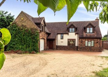 Thumbnail 4 bed detached house for sale in St Ives Road, Old Hurst, Huntingdon, Cambridgeshire.