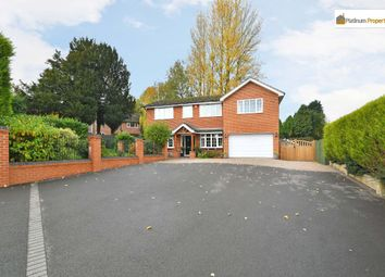 Thumbnail 5 bed detached house for sale in Uttoxeter Road, Blythe Bridge, Stoke-On-Trent