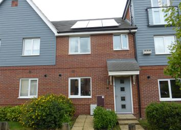 Thumbnail 3 bed terraced house for sale in Vickers Way, Upper Cambourne, Cambridge
