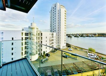 Thumbnail 1 bed flat for sale in North Woolwich Road, London