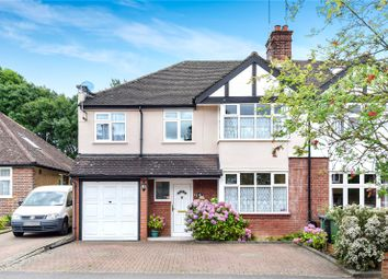 Thumbnail 4 bed semi-detached house for sale in Swiss Avenue, Watford, Hertfordshire