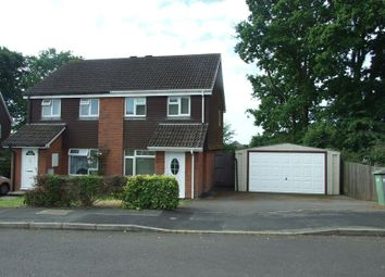 Thumbnail 3 bedroom semi-detached house for sale in Manley Road, Bursledon