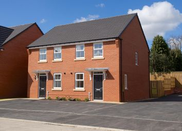 "Thumbnail 2 bedroom end terrace house for sale in ""Winton"" at Black Firs Lane, Somerford, Congleton"