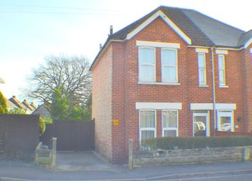 Thumbnail 3 bedroom semi-detached house for sale in Albert Road, Parkstone, Poole