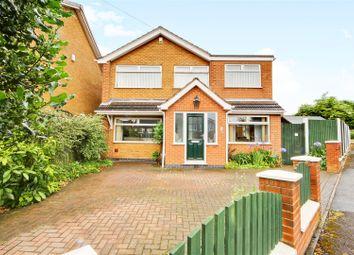 Thumbnail 4 bed detached house for sale in Castle Close, Calverton, Nottingham