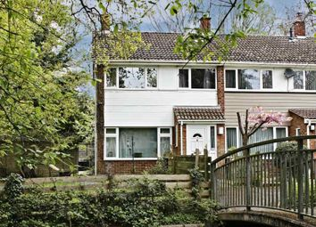 Thumbnail 3 bed end terrace house for sale in Brookside Walk, Tadley