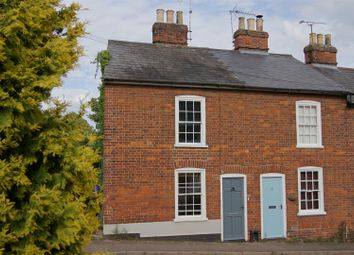 Thumbnail 2 bedroom end terrace house for sale in Mill Road, Bury St. Edmunds