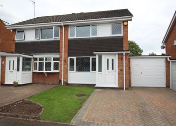 Thumbnail 3 bed semi-detached house to rent in Newent Close, Winyates Green, Redditch