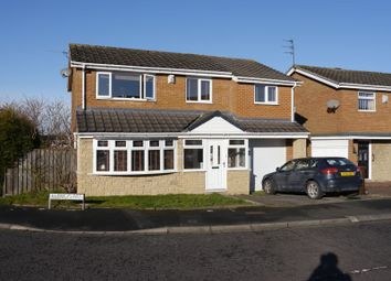 Thumbnail 4 bedroom detached house for sale in Glebe Close, Chapel Park, Newcastle Upon Tyne