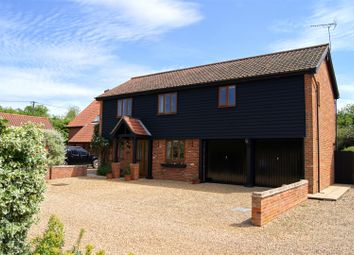 Thumbnail 4 bedroom detached house for sale in The Street, Hepworth, Diss