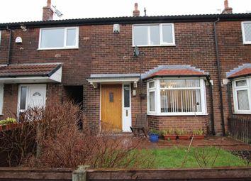 Thumbnail 2 bed terraced house for sale in Arnside Grove, Breightmet, Bolton