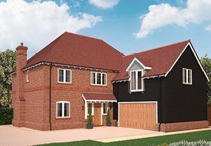 Thumbnail 5 bed detached house for sale in The Marston, Westwick Row, Hemel Hempstead, Hertfordshire
