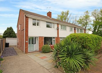 Thumbnail 3 bed semi-detached house for sale in Crediton Avenue, Marshside, Southport