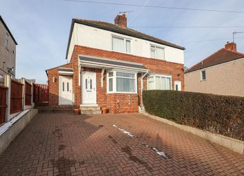 Thumbnail 2 bed semi-detached house for sale in Hollindale Drive, Sheffield