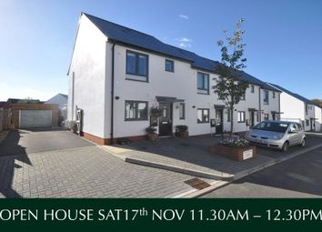 Thumbnail 2 bed end terrace house for sale in Milbury Farm Meadow, Exminster, Exeter