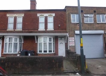 Thumbnail 2 bed end terrace house for sale in Hob Moor Road, Small Heath, Birmingham