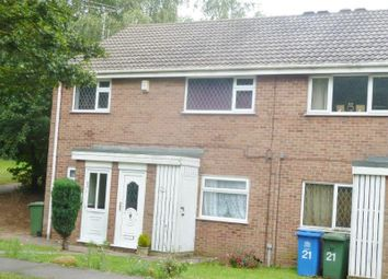 Thumbnail 2 bedroom maisonette for sale in Larkspur Close, Forest Town, Mansfield