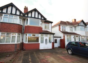 Thumbnail 3 bed semi-detached house to rent in Quinton Road, Harborne