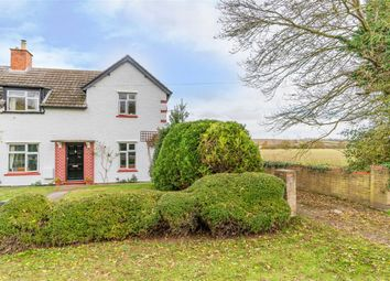 Thumbnail 3 bed semi-detached house for sale in North Road, Alconbury Weston, Huntingdon