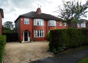 Thumbnail 3 bedroom semi-detached house to rent in Woodford Road, Poynton, Stockport