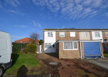 Thumbnail 3 bedroom end terrace house for sale in Poplar Close, Clacton-On-Sea
